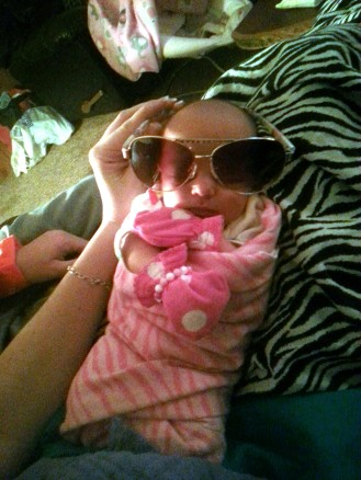 Berklee as Baby Carlos (from The Hangover...obviously)