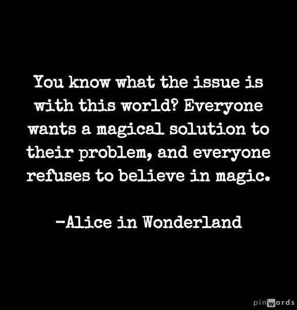 Magical solution - Alice inin Wonderland #thesydneyproject